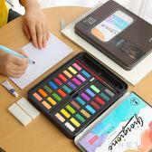 喬爾喬內固體水彩顏料套裝水粉畫學生手繪便攜透明水彩畫筆 js3460『科炫3C』