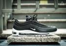 ISNEAKERS Nike Air Max 97 黑白 氣墊 復古 流線 慢跑 男女鞋 921826-001 921522-001