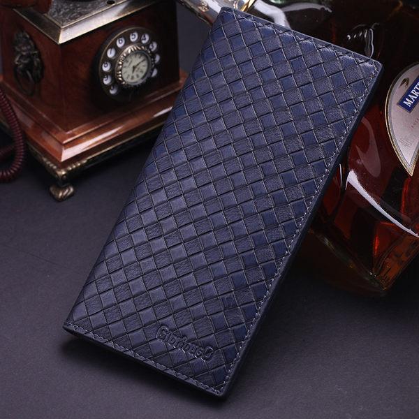 短夾 父親節禮物 中夾 信用卡 軟皮夾 精品 質感 男用 對折 多卡層 拉鍊 簡約 設計 男夾