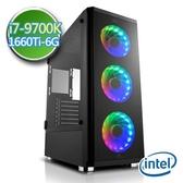 技嘉Z390平台【闇焱刀鋒】i7八核 GTX1660Ti-6G獨顯 SSD 240G效能電腦