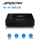 Saqicam 4路4MP AHD 監視器主機 1440P監控錄影DVR 類比鏡頭適用 手機遠端 比1080P更高清