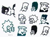 薇嘉雅       紋身貼紙 摩登原始人 K173