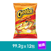 美國Cheetos奇多玉米棒香辣(99.2gx12包)-箱購