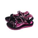 G.P(GOLD PIGEON) 涼鞋 運動型 黑/桃紅 童鞋 大童 G1697BW-15 no493