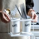 筷子籠家用陶瓷筷子筒廚房筷子勺子收納架盒快筷子簍置物架瀝水架WD  聖誕節免運
