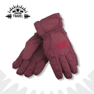 【SNOW TRAVEL 100%羽毛防水透氣手套《酒紅》】AR-1/防風手套/保暖手套/羽絨手套/出國旅遊/賞雪/滑雪