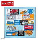Sanrio 汽車宇宙*TOMICA日本製棉質餐巾(方格)★funbox★_273830