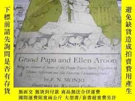 二手書博民逛書店Grand罕見Papa and Ellen Aroon 爺爺和E