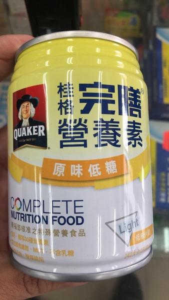 超低價 桂格完膳營養素奶水 原味低糖 250毫升1箱 1150 元《宏泰健康生活網》