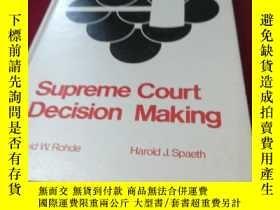 二手書博民逛書店Supreme罕見Court Decision MakingY195258 David W.Rohde &am