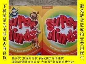 二手書博民逛書店Super罕見Minds Starter Student s Book with 【 Super Minds St