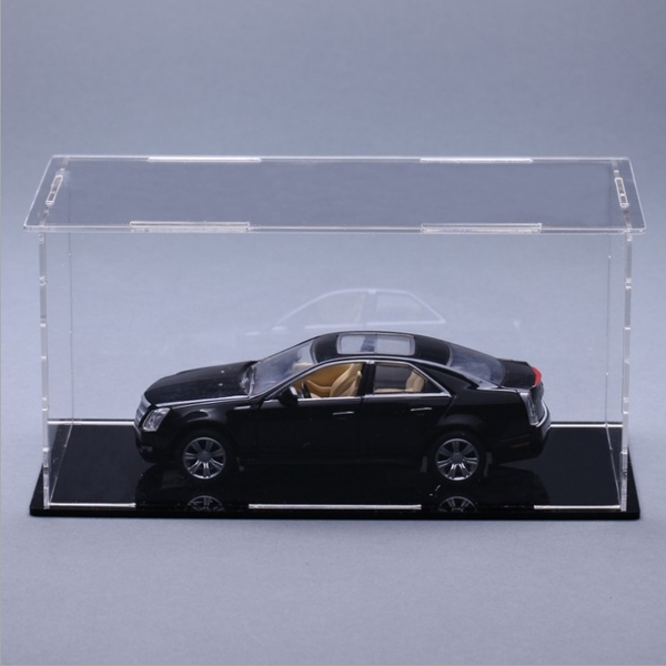 壓克力展示盒玻璃盒子透明塑料罩手辦收納