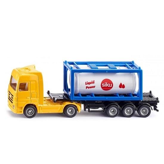 siku模型車 No.1795 氣體運輸車 Truck with tank container
