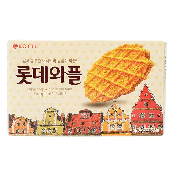 韓國 LOTTE 樂天鬆餅 40g【庫奇小舖】