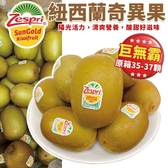 【果之蔬-全省免運】紐西蘭ZESPRI黃金奇異果(35-37顆裝/5500g±10%/原箱)巨無霸