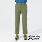 PolarStar 男 排汗快乾彈性長褲『綠卡其』P20305 戶外│露營│釣魚│休閒褲│釣魚褲│登山褲