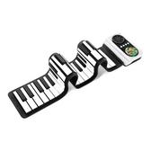 諾艾手卷鋼琴,49鍵兒童款黑白鍵,贈送一周少兒在線一對一鋼琴課