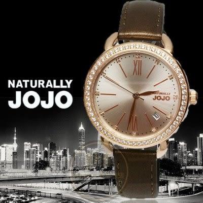 NATURALLY JOJO風華再現名媛時尚晶鑽腕錶JO96902-95R原廠公司貨/禮物/時尚/情人節/禮物