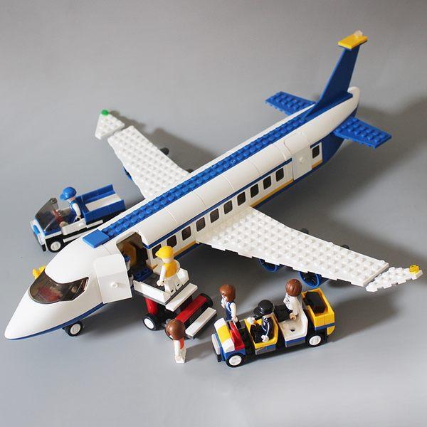 兼容樂高積木男孩子城市系列大型客機軍事飛機拼裝益智力兒童玩具