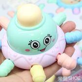 兒童玩具 嬰兒寶寶Q萌手拿手抓軟膠小章魚捏捏叫磨牙新生牙膠 0-12個月