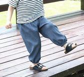 防蚊褲 男童防蚊褲 薄款5兒童夏季小童空調長褲寶寶燈籠褲【韓國時尚週】