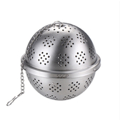 PUSH!廚房用品304不鏽鋼調料球煲湯過濾球D193大號二入大號二入
