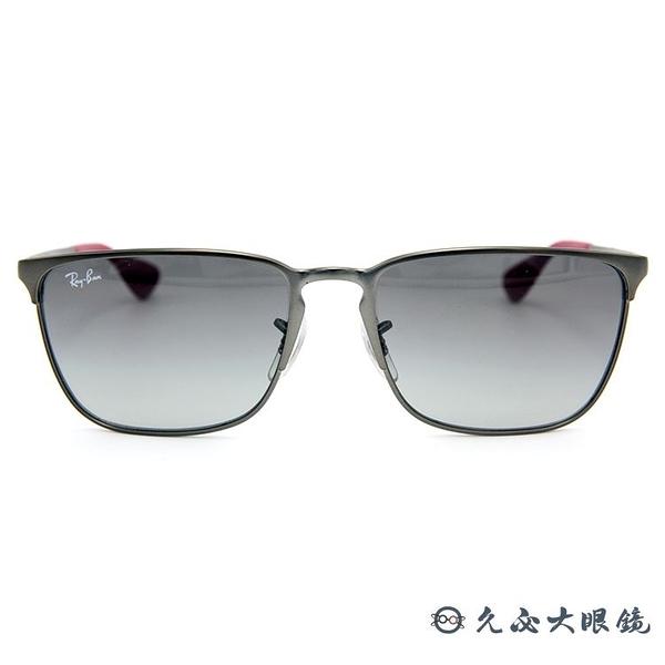 RayBan墨鏡 經典太陽眼鏡 RB3508 02911 鐵灰 久必大眼鏡