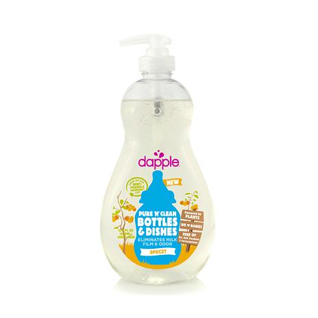【愛吾兒】美國 dapple 奶瓶及餐具清潔液-杏仁500ml 美國原裝進口