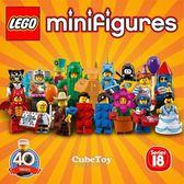 樂高積木 71021 人偶包 18代 16隻 一套 ( LEGO Minifigures )