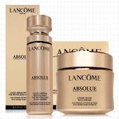 LANCOME蘭蔻 絕對完美黃金玫瑰修護乳霜60ml+黃金玫瑰修護精華30ml(豐潤版)