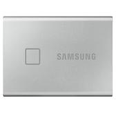 【限時至0516】 SAMSUNG 三星 T7 TOUCH 500GB USB 3.2 SSD 指紋感應 外接式固態硬碟 時尚銀