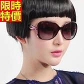 太陽眼鏡-偏光帥氣造型韓版時尚復古大框抗UV男女墨鏡3色67f37[巴黎精品]