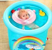 嬰兒游泳圈脖圈新生幼兒兒童頸圈可調LYH1716【大尺碼女王】