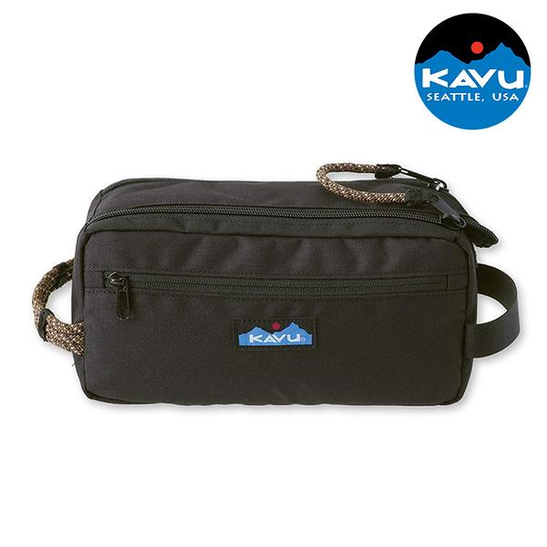 【KAVU】休閒收納包 Grizzly Kit 9060 黑色 / 城市綠洲 (配件包、工具包、美國品牌)