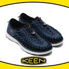 【KEEN 美國 男 編繩包鞋《深藍》】...