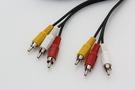 【鼎立資訊】明視 AV 3對3 公對公 影音訊號線 1.5M