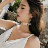 耳環  歐美復古流蘇耳環女個性夸張潮人韓國氣質長款耳墜  瑪奇哈朵