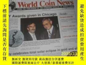 二手書博民逛書店World罕見Coin News(Vol.26,No.9)(Se