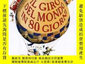 二手書博民逛書店意大利語有聲罕見Il Giro Del Mondo in 0tt