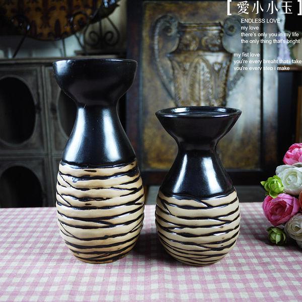 【意大利:黑色幽默】陶瓷燭台2個組