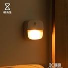 懶角落 感應小夜燈光控感應LED人體感應節能燈過道樓道壁燈66511 3C優購