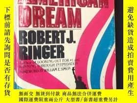 二手書博民逛書店RESTORING罕見THE AMERICAN DREAMY16663 ROBERT J. RINGER