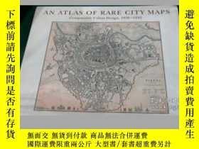 二手書博民逛書店An罕見atlas of rare city maps - Co