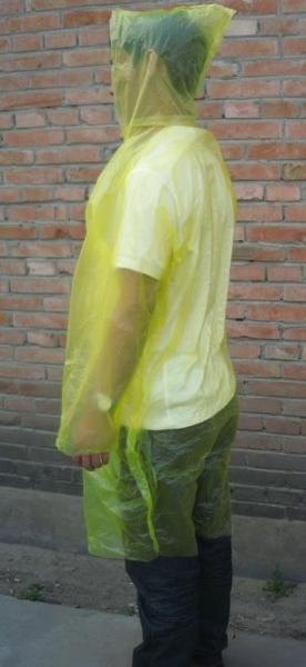 [協貿國際]一次性雨衣男女戶外旅游輕便開衫1入