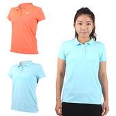 NIKE 女子短袖針織衫 (網球 高爾夫 POLO衫 免運 ≡排汗專家≡