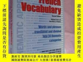 二手書博民逛書店英文版法語學習罕見Mastering French Vocabu