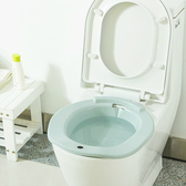 ✭米菈生活館✭【N331】馬桶坐浴盆 孕婦 月子 坐洗盆 免蹲 馬桶 洗屁股盆 男女 護理 居家 浴室