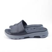 Skechers GO WALK 5 - SURFS 拖鞋 243005BKGY 男款 黑灰【iSport愛運動】