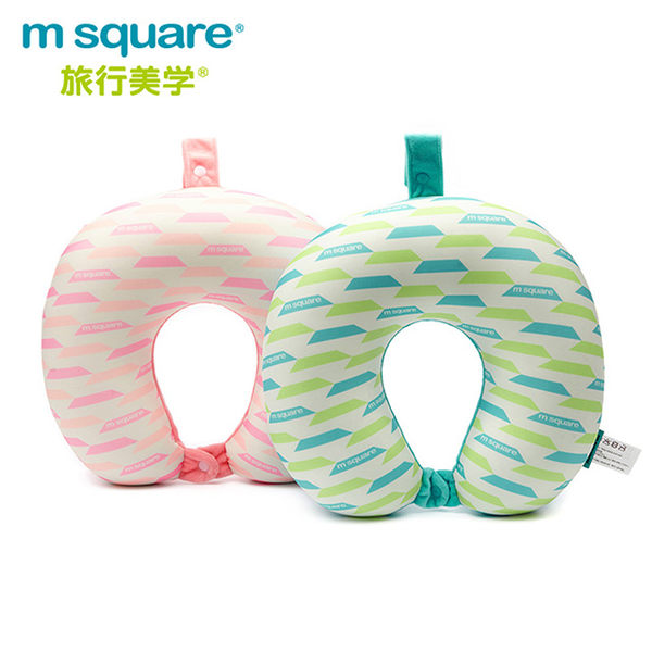 m square U型頸枕馬卡龍系列