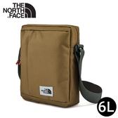 【The North Face 6L 斜背包《卡其》】3KZT/側背包/隨行包/外出包/運動/跑步